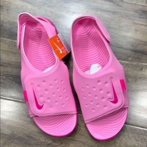 NIKE SUNRAY ADJUST 5 (GS/PS) Psychic Pink/Laser